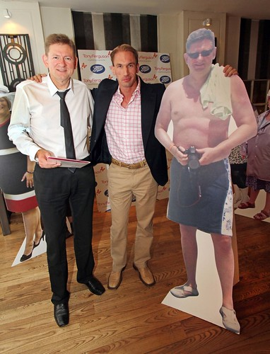 Dr Christian Jessen crowns super slimmer Robert Royle 'Britain's Biggest Winner' at an awards dinner hosted by Boots UK and Tony Ferguson