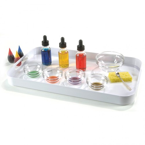 Color Mixing Activity from Montessori Services