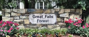 Great Falls Forest neighborhood in Sterling VA