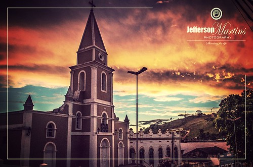 That's beautiful. Sundown in Viçosa City