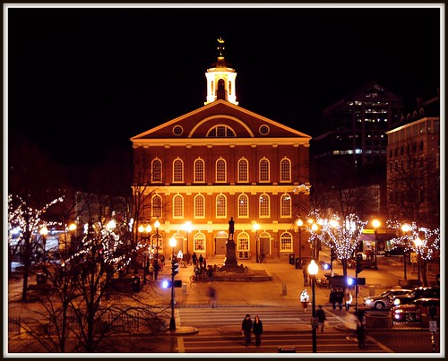 Faneuil Hall, Boston (Credit: Tony Fischer Photography on Flickr.com)