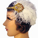 Flapper Fascinator Headband