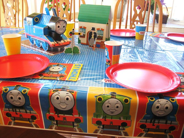 Thomas Tank Engine Birthday