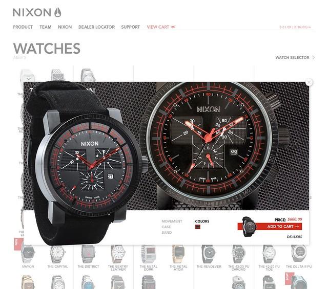 nixon watches flickr photo