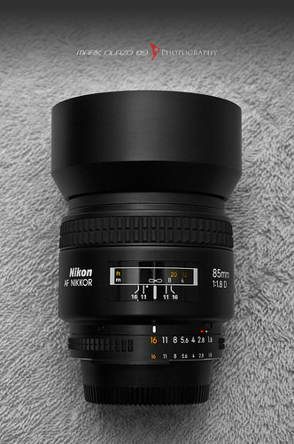 The Nikkor 85mm f1.8