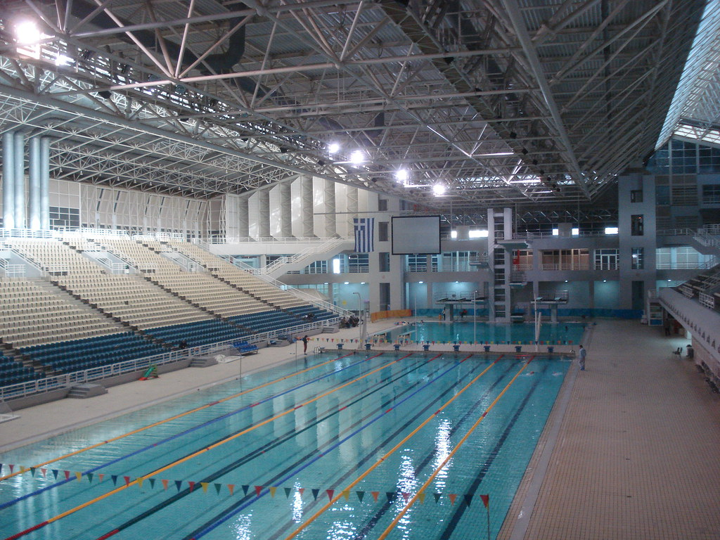 Aquatics centers swimming arenas page 4 skyscrapercity for Swimming pool show barcelona