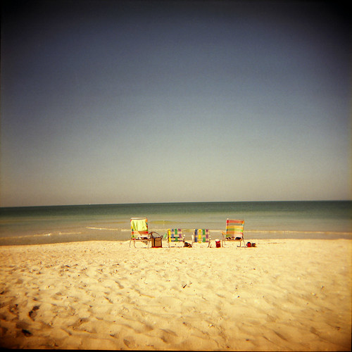 beach geotagged holga chair florida toycamera plage chaise plasticcamera floride holga120cfn mywinners twtmeiconoftheday fujipro160asa barefootbeachpreserve geo:lat=26302187 geo:lon=81835184