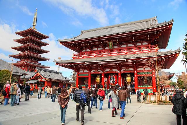 Sensō-ji Buddhist Temple in Asakusa, Tokyo, Japan  Flickr ...