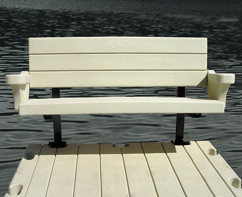 P54 Polyethylene Dock Bench Warms Flickr Photo Sharing