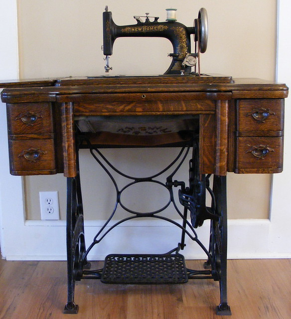 Dating a new home treadle sewing machine