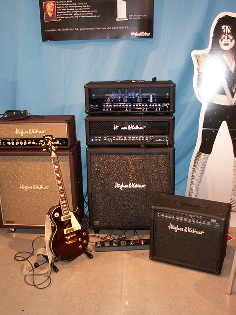Photo:Hughes & Kettner Amps By jonsson