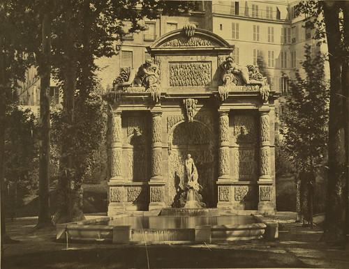 Paris. Medici Fountain, Gardens of the Palais du Luxembourg