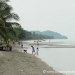 Beach Scene, Livingston - Guatemala