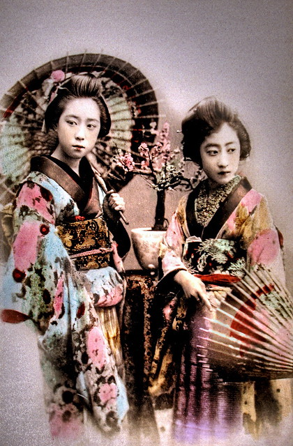 Two Belles of Old Japan