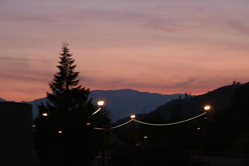 sunset smokey