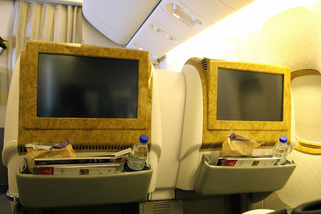 Emirates 777-200LR Business Class   Flickr - Photo Sharing!