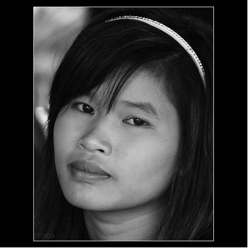 "portrait bw cisco laos ritratto bianconero luangprabang photographia ""photographia"""