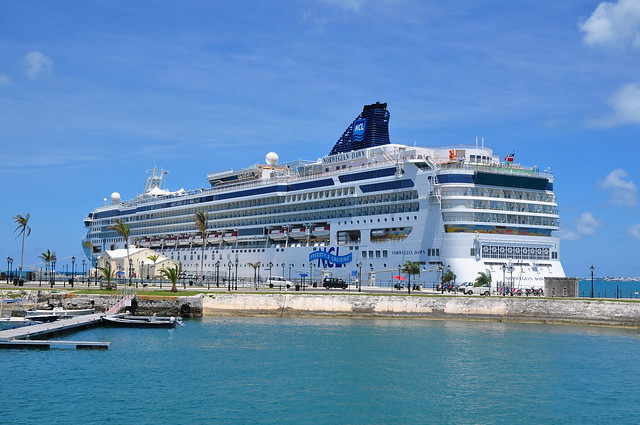 miss cruise ship - Hamilton Bermuda