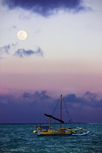 Moonrise at Twilight
