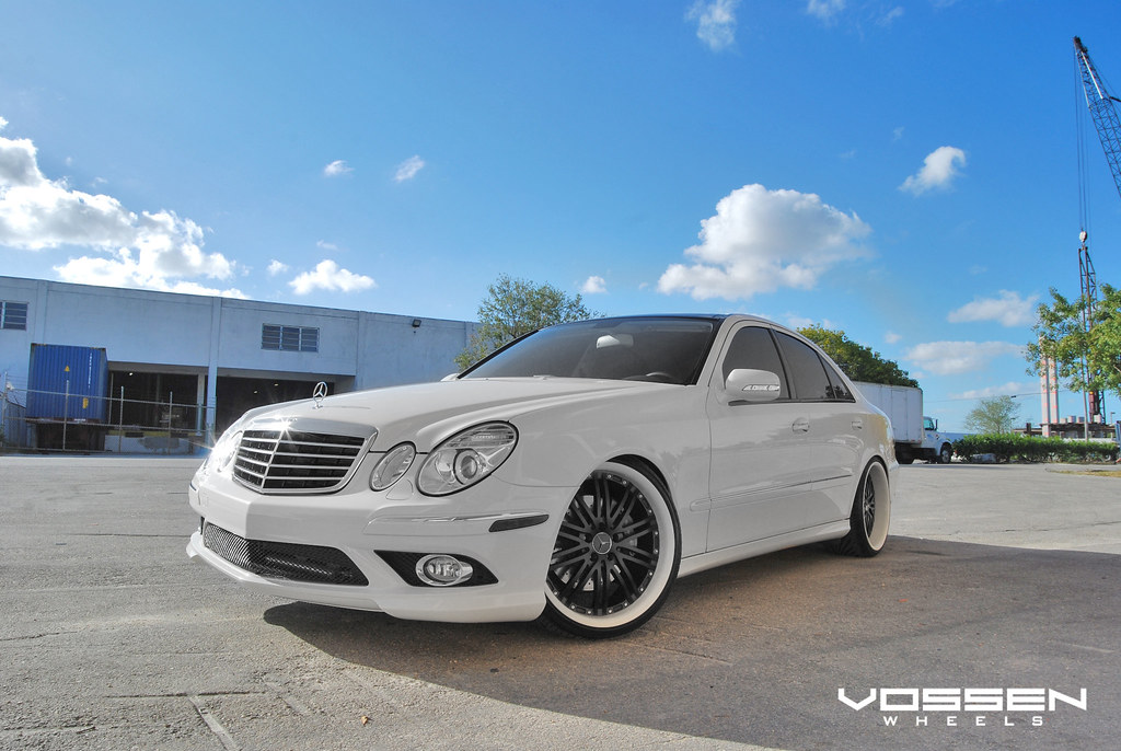 Vossen wheels custom mercedes benz e550 vvs 082 wheels for 2009 mercedes benz e550