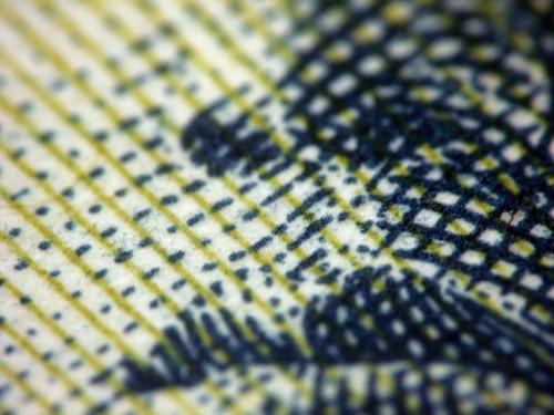 Paper money, extreme macro - 無料写真検索fotoq