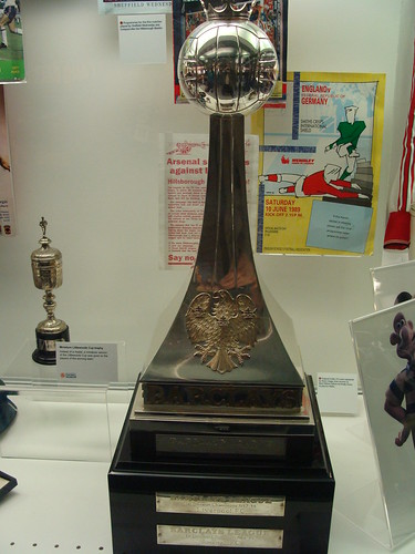 Football League championship trophy