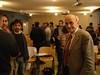 Ad una conferenza con gli studenti