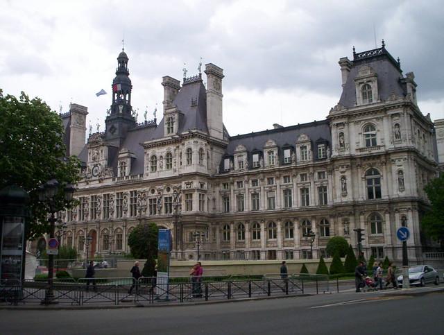 Hôtel de Ville de Paris - Mai 2007