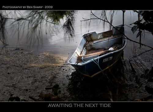 Awaiting the next tide