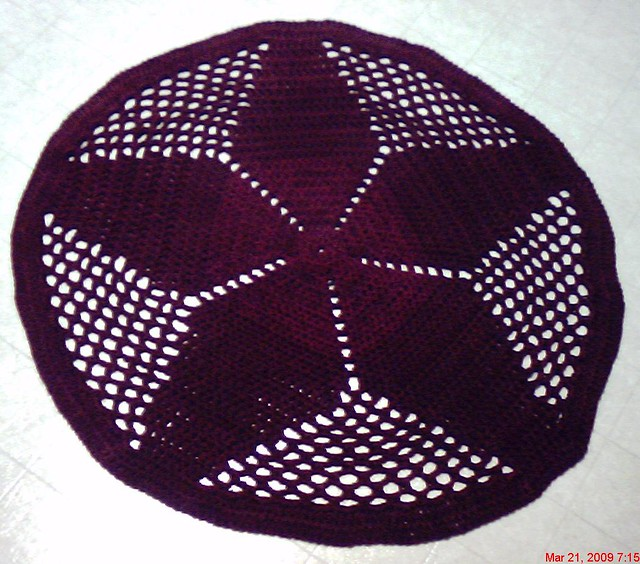 Pentacle Crochet Pattern Easy Crochet Patterns
