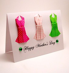 Paper Green 41 Photos | Origami Dress Card | 079
