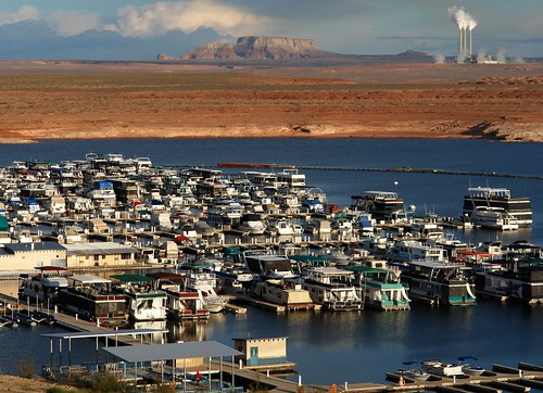 Marina on Lake Powell, Near Page Arizona