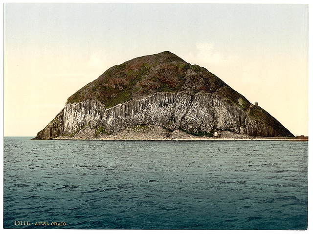 [General view, Ailsa Craig, Scotland] (LOC)