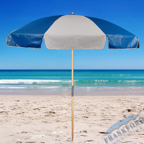 Shopzilla - Blue White Striped Patio Umbrella Patio Umbrellas