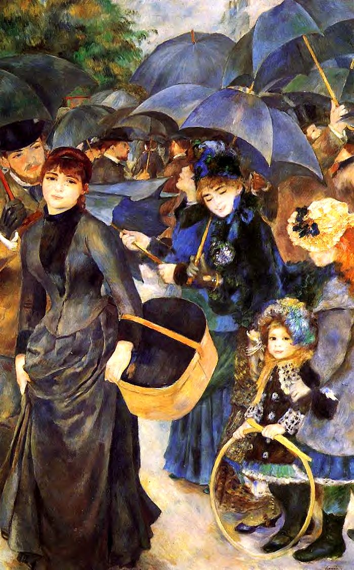 Renoir, Pierre Auguste (1841-1919) - 1881 The Umbrellas (National Gallery, London)