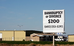 Bankrupty or Divorce?