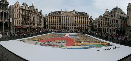 The largest comic strip board - panorama