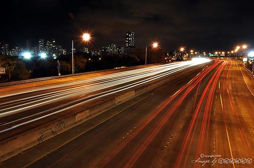 longexposure nikon nightshot freeway starburst d90