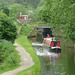 Small photo of Narrowboat on the Rochdale Canal near Walsden