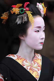 beautiful / japanese / geisha / makeup / pretty / traditional / kyoto / 舞妓 杏佳さん