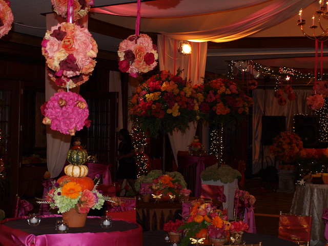Wedding decorations at the country club flickr photo sharing for Photo decoration