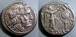 44/1 #9112-33 Anonymous Jupiter Victory trophy Victoriatus