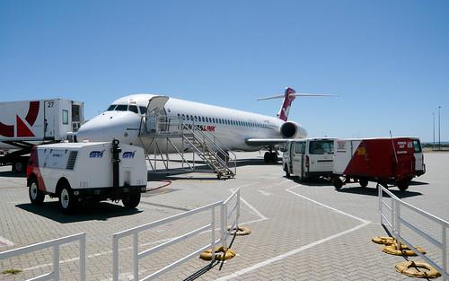 National Jet Systems/Qantaslink B717-200 VH-NXL