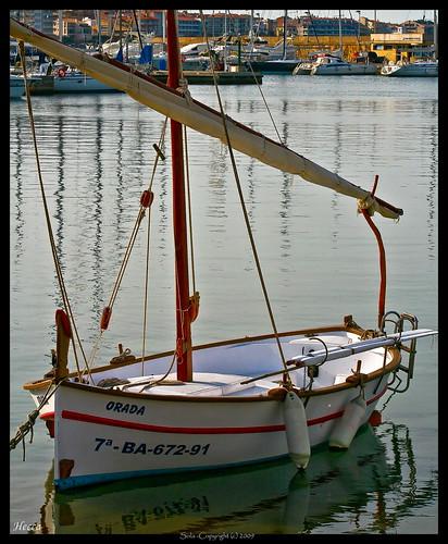 sea españa color colour water canon eos mar spain agua catalonia girona single catalunya sola hdr gerona lescala singolo 400d hecca