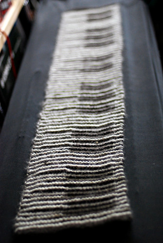 Knitting Pattern Piano Keyboard : illusion knitting piano scarf Flickr - Photo Sharing!