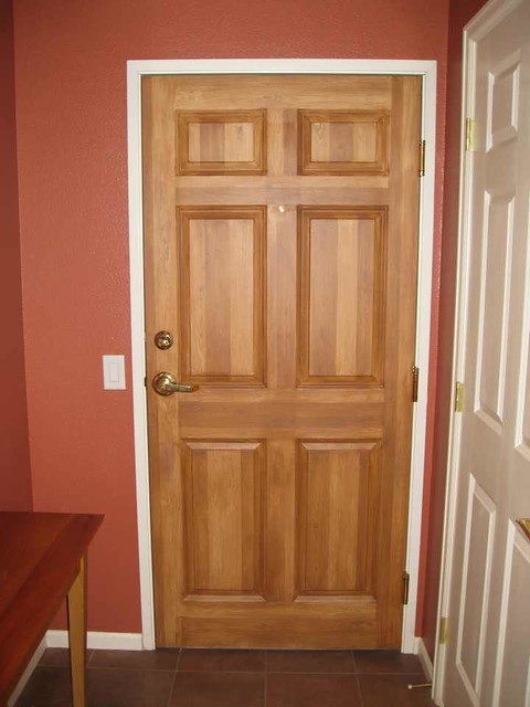 Faux Wood Front Door Flickr Photo Sharing