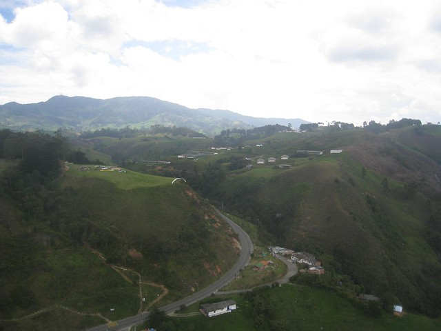 A birds eye view of the landing zone