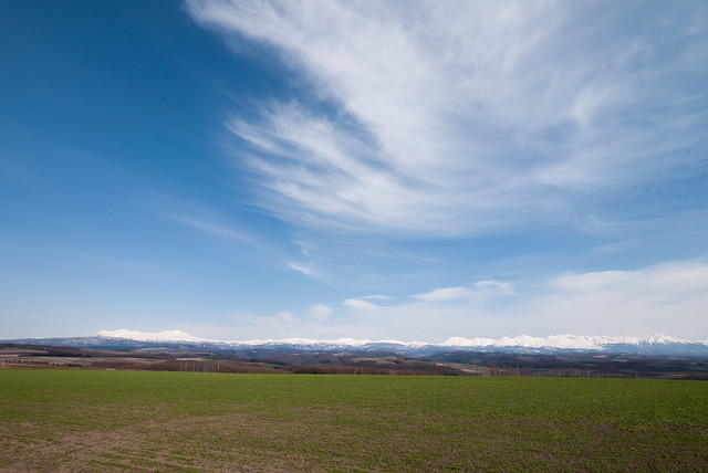 Photo:from Daisetsuzan to Tokachidake, mountain range of early spring By:double-h