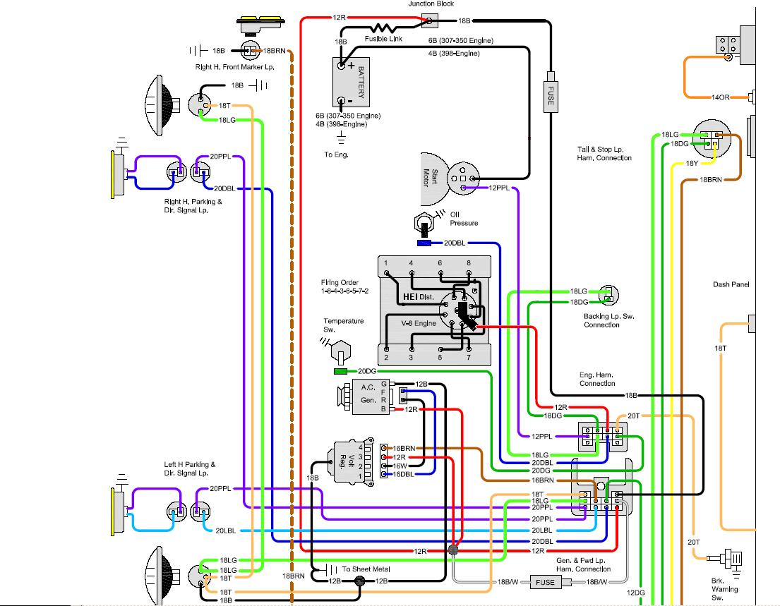 68 C10 Wiring Diagram Great Design Of 1967 Chevelle Generator Issues On My Blazer The 1947 Present Chevrolet 1966 Chevy Truck Diagrams