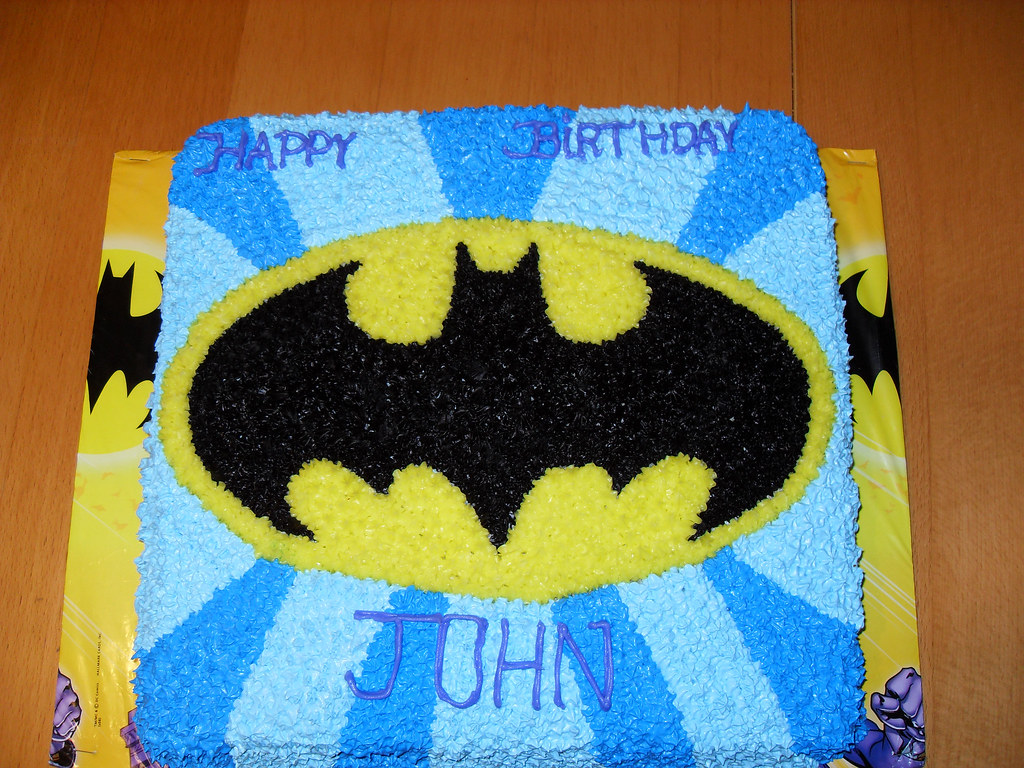 Batman Cake A Photo On Flickriver